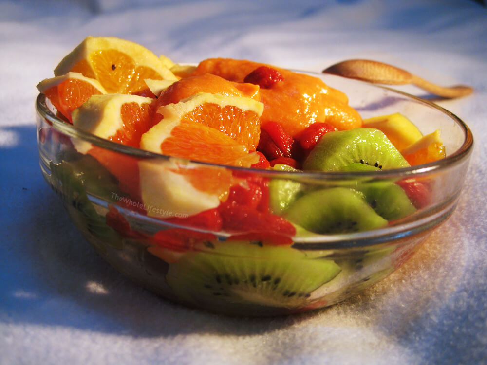 Raw vegan recipes the whole lifestyle immune boosting fruit salad forumfinder Gallery