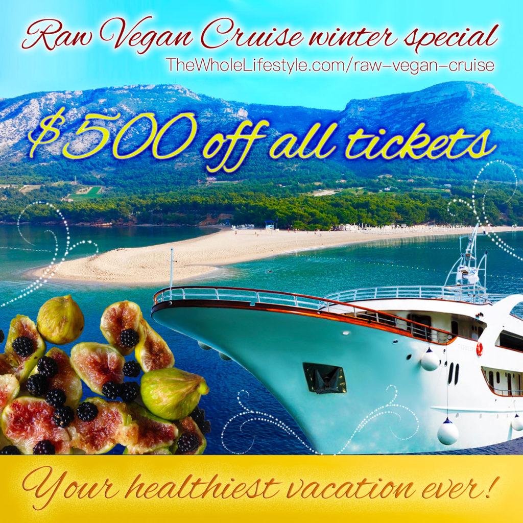 raw vegan vacation at sea 2017