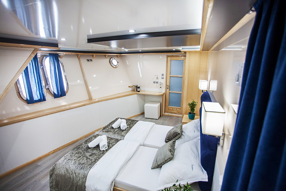 Raw vegan cruise VIP cabin